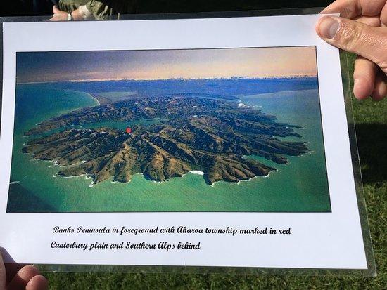 Akaroa Guided Walks: the volcano port we entered