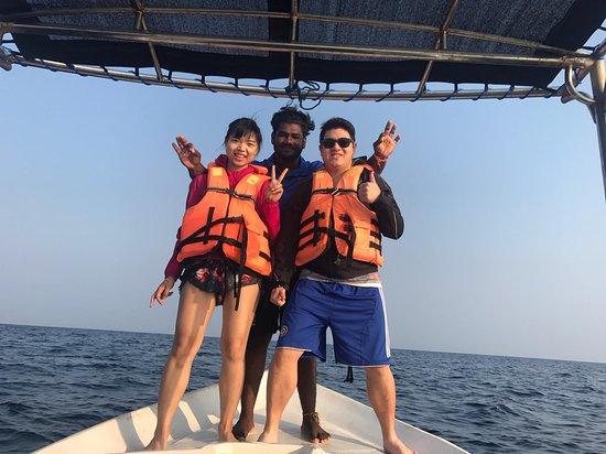 Nilaveli, Sri Lanka: Abi and us