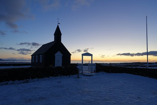 Budir, Islande : The church was closed