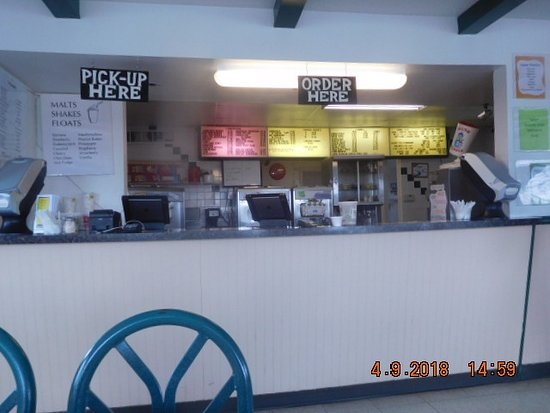 Nevada, IA: INSIDE ORDER COUNTER
