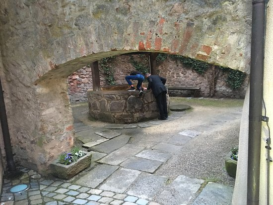Wernberg, Germany: Medieval fountain