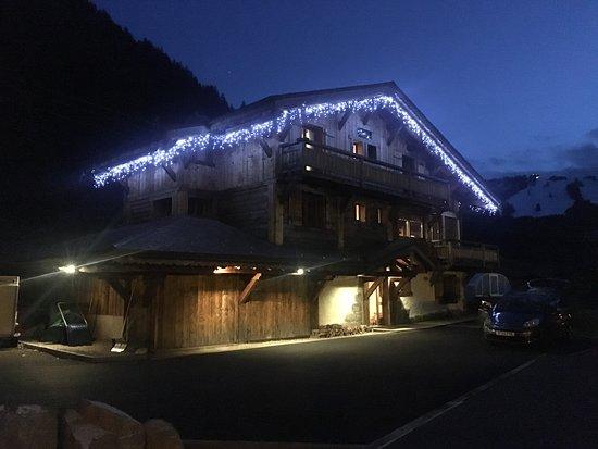 Chalet Roxy At Night Picture Of Star Ski Chalets Morzine