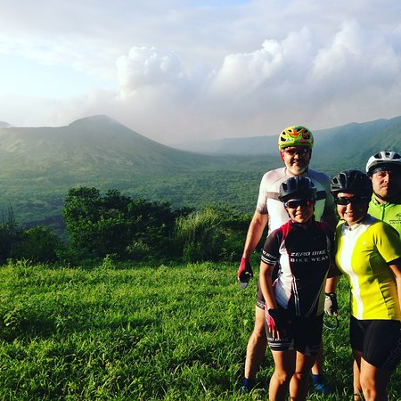 Nindiri, Nicaragua: Crater of hell bike tour