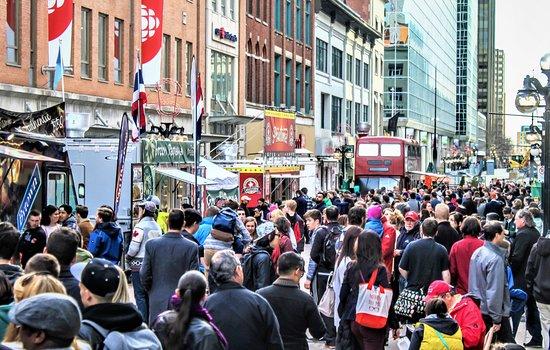 Ottawa, Canada: Sparks Street Poutinefest April