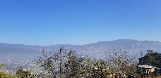 Changunarayan, Nepal: vista de katmandu