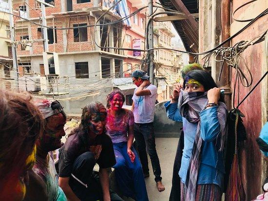 Changunarayan, Nepal: paseo por fiestas