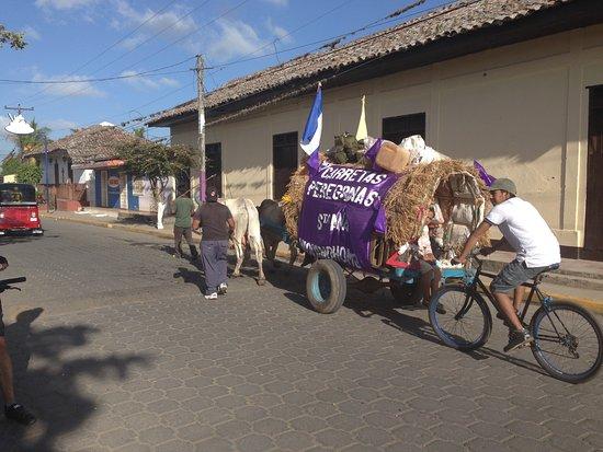 Nindiri, Nicaragua: Niquinohomo part of our ride to Los Pueblos Blancos