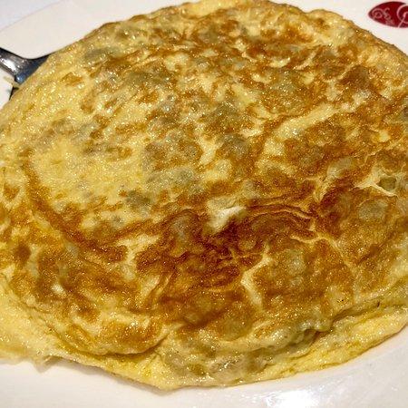 La Encina: Tortilla jugosa y poco cuajada
