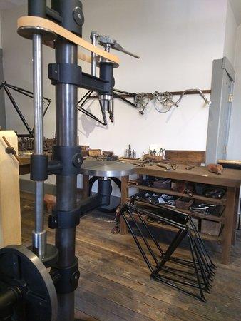 Belt-Driven Machine Shop