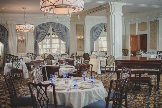 Regency Dining Room: The historic Regency Room
