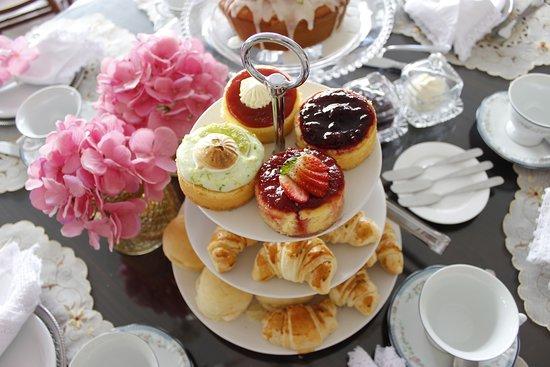 Nossos itens do chá da tarde, venha passar uma tarde agradável