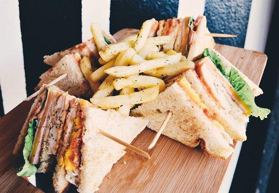 Province of Alajuela, Kosta Rika: Sandwiches de alta calidad