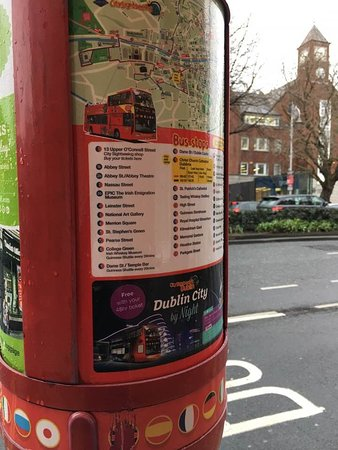 City Sightseeing Dublin Hop-On Hop-Off Bus Tour: Another Bus Stop with the Free Nigh Tour for 48 hour ticket holders