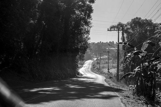 State of Rio Grande do Sul: Estrada Rota Romântica em direção a Weber Haus.