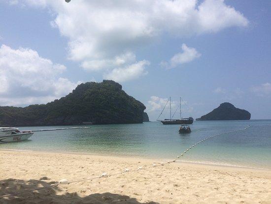 Bophut, Tailandia: Der Strand