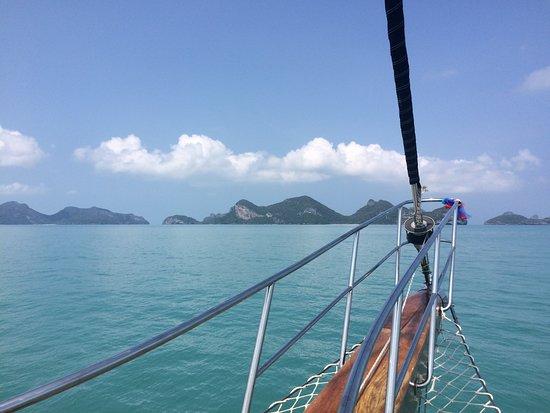Bophut, Tailandia: Blick vom Schiff