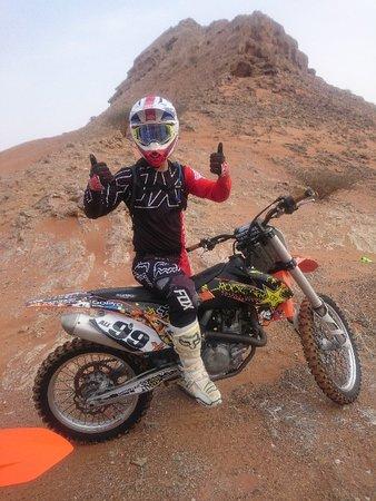 MX-tour in the desert