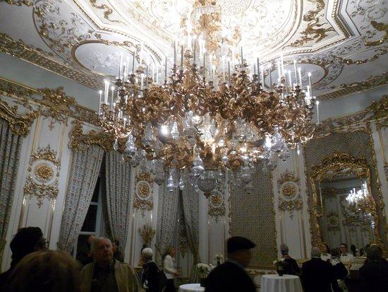 Baroque chandelier picture of liechtenstein city palace vienna liechtenstein city palace baroque chandelier aloadofball Images