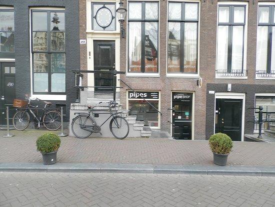 Amsterdam Pipe Museum: Entrada