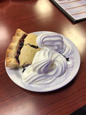 Saint Regis, MT: Huckleberry pie ala mode