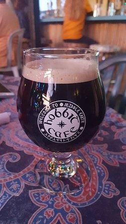 Hobbit Cafe: Beer selection is a big plus!