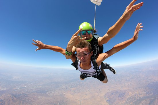 Jamul, CA: It's easier than you think! just book your Tandem and come jump with us at Skydive San Diego.