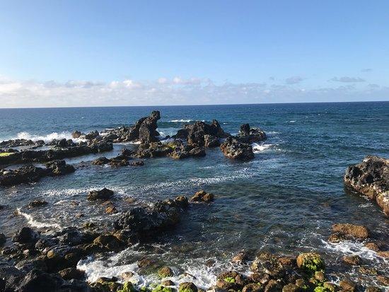 Paia, HI: Rugged Side of the Hookipa Beach