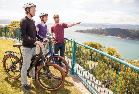 Switched on Bikes: One of the guided tour stops