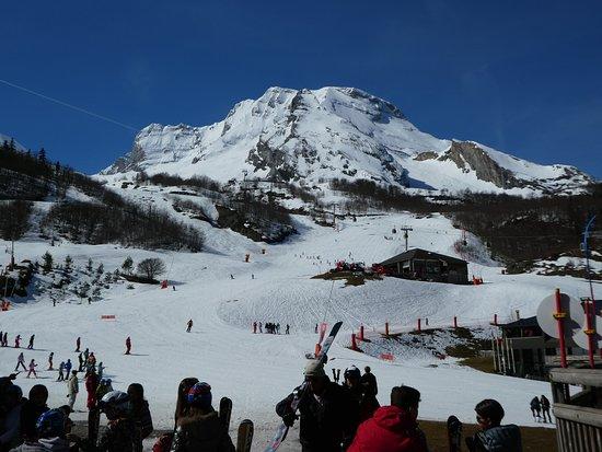 Pistes de skis à Gourette