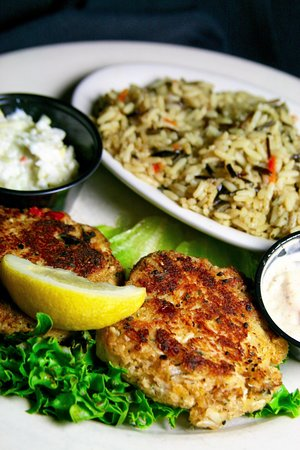 T Bonz Steakhouse of Augusta: Maryland Style Crab Cakes