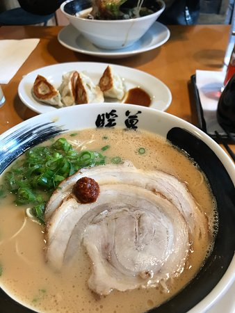 Ramen Danbo - Robson: Nice Soup During a Typical Rainy Vancouver Day