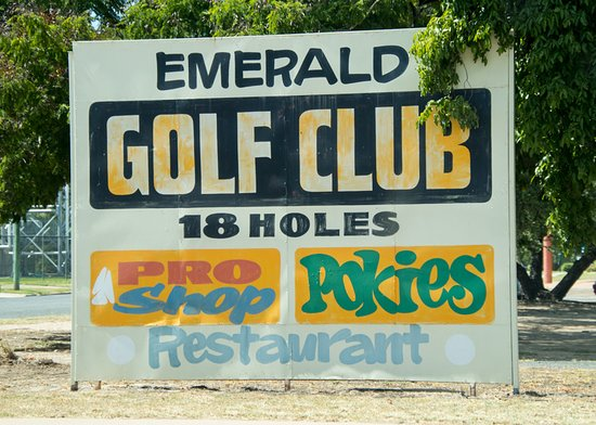 Emerald, Australia: Great place to golf