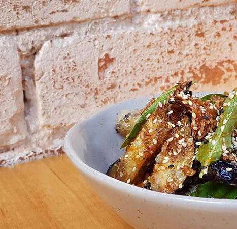 Bang Bang: Crispy Fried Eggplant