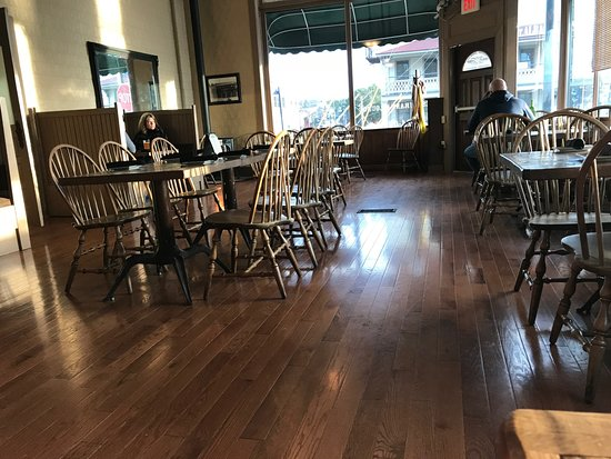Saint Albans, VT: The new floors in the big dining room