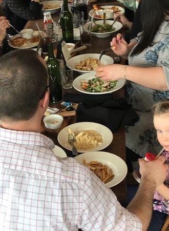 Saint Albans, Βερμόντ: Family wedding luncheon