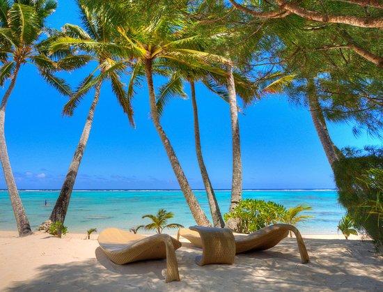 Titikaveka, Islas Cook: Beach