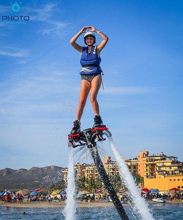 Los Cabos, Mexico: Flyboarding in Cabo