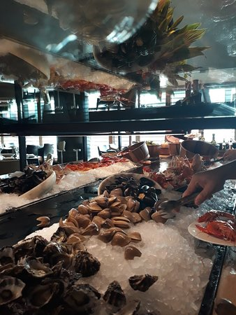 Best seafood buffet in town