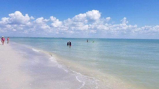 Turner Beach Looking Towards Sanibel From Down The On Captiva