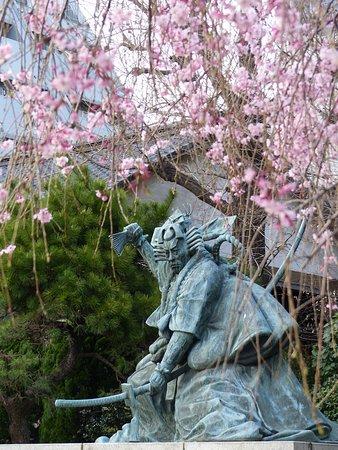 Statue of Ichikawa Danjuro IX
