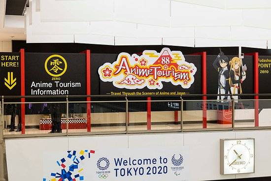 Anime Tourism Information