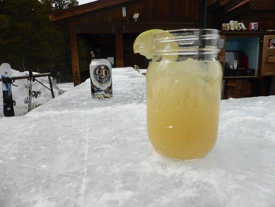 Foto de The Ice Bar at Uley's Cabin
