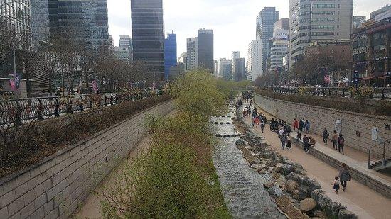 Cheonggyecheon Stream – fénykép