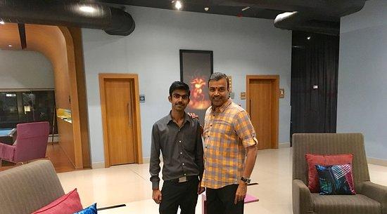 With Vishnu, Housekeeping Supervisor - Picture of Aloft Coimbatore ...