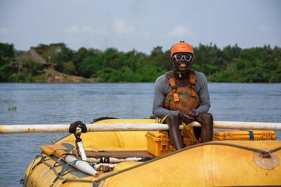 Nalubale Rafting: Smiles all round!