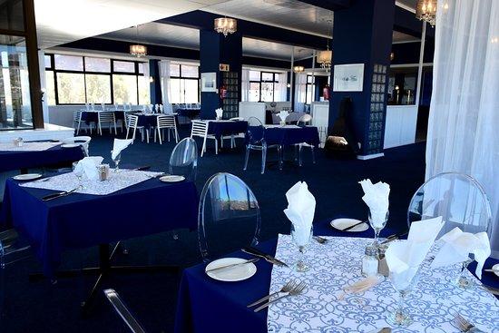 Saldanha, Νότια Αφρική: Eigebraai Restaurant on top floor