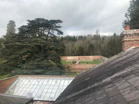 Garthmyl, UK: View from Hunting Room