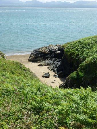 Newborough Warren & Ynys Llanddwyn: One of the little coves - ideal for a picknick