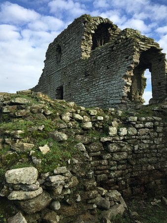 County Carlow, Ireland: inside the ruins