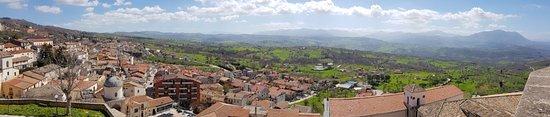 Panorama dal castello di Gesualdo